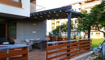 Вдъхни нов живот на терасата си с алуминиева пергола